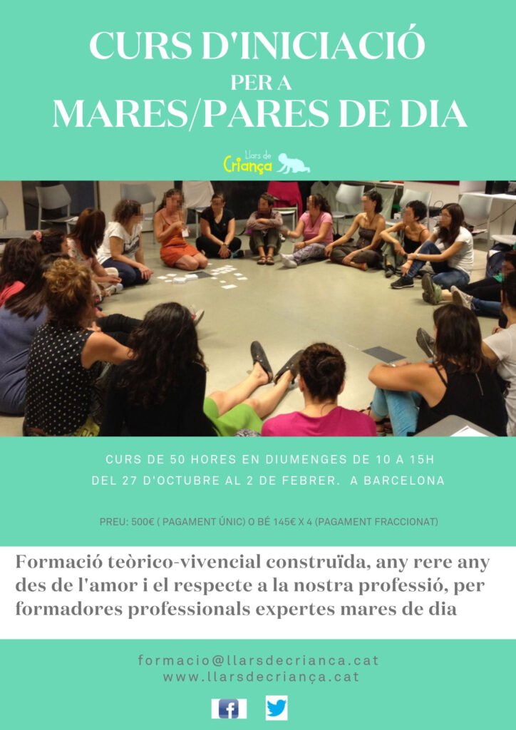 Sessió informativa Curs d'Iniciació per a mares/pares de dia