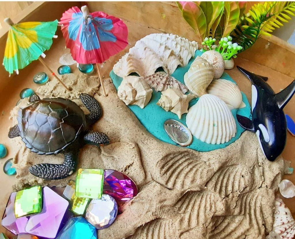 Mini mons de temporada: platges